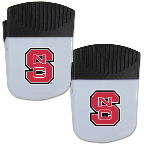 N. Carolina St. Wolfpack Chip Clip Magnet with Bottle Opener, 2 pack