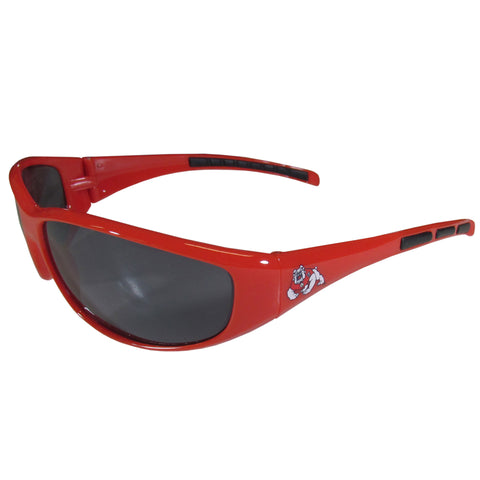 Fresno St. Bulldogs - Wrap Sunglasses