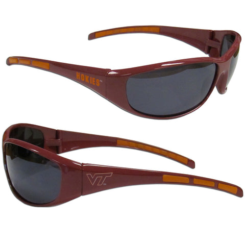 Virginia Tech Hokies - Wrap Sunglasses