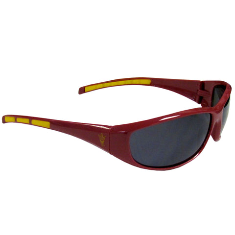 Arizona St. Sun Devils - Wrap Sunglasses