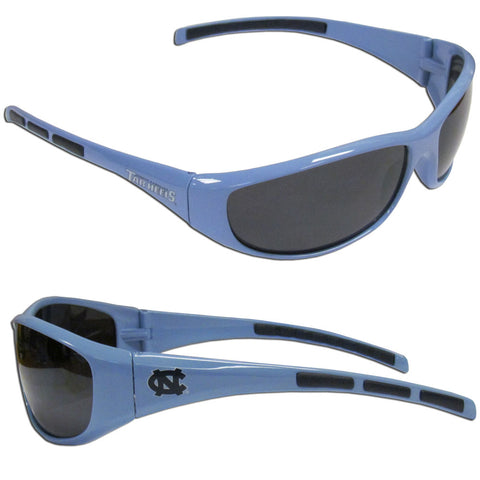 N. Carolina Tar Heels - Wrap Sunglasses