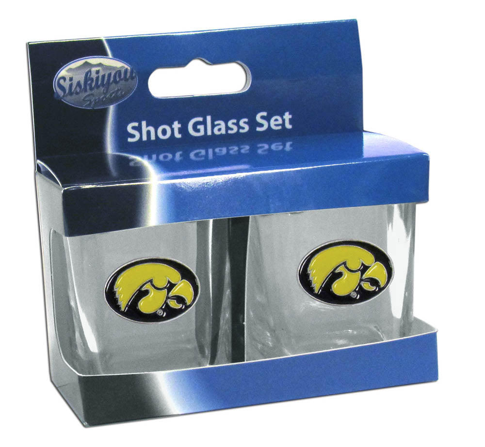 Iowa Hawkeyes Shot Glass - Set