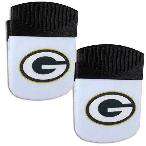 Green Bay Packers   Chip Clip Magnet with Bottle Opener 2 pack