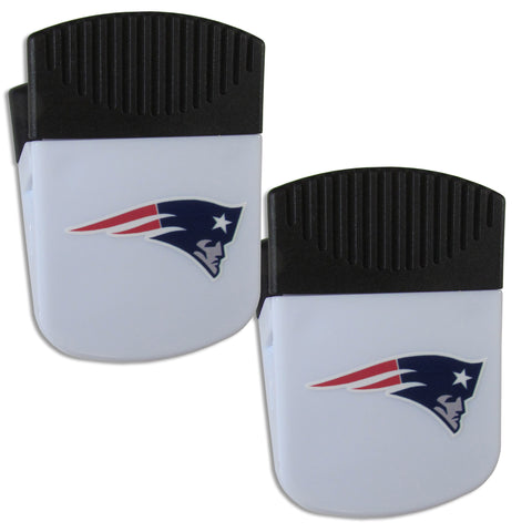 New England Patriots   Chip Clip Magnet with Bottle Opener 2 pack