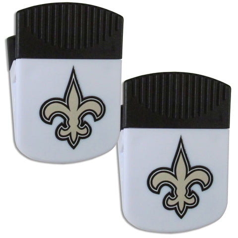 New Orleans Saints   Chip Clip Magnet with Bottle Opener 2 pack
