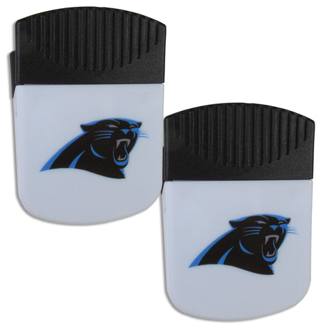 Carolina Panthers   Chip Clip Magnet with Bottle Opener 2 pack