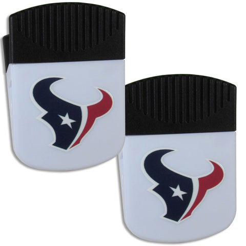 Houston Texans   Chip Clip Magnet with Bottle Opener 2 pack