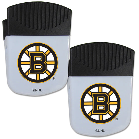 Boston Bruins   Chip Clip Magnet with Bottle Opener 2 pack