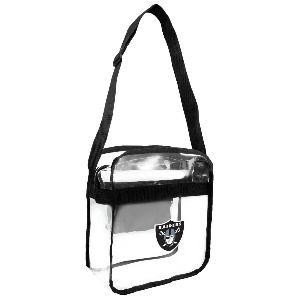 Raiders Clear Carryall Crossbody