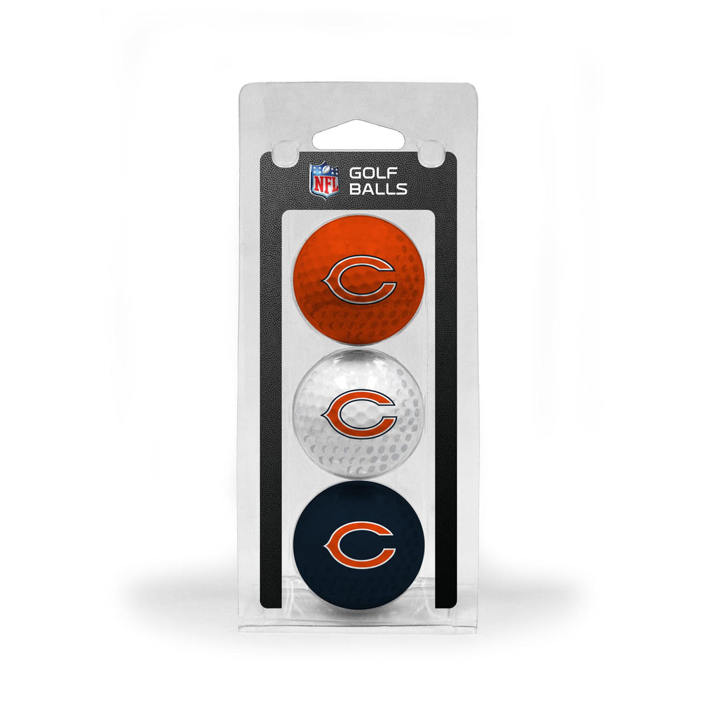 Chicago Bears 3 Golf Ball Pack