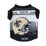 New Orleans Saints Pet Performance Tee Shirt