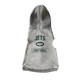 New York Jets Pet Hooded Crewneck Type