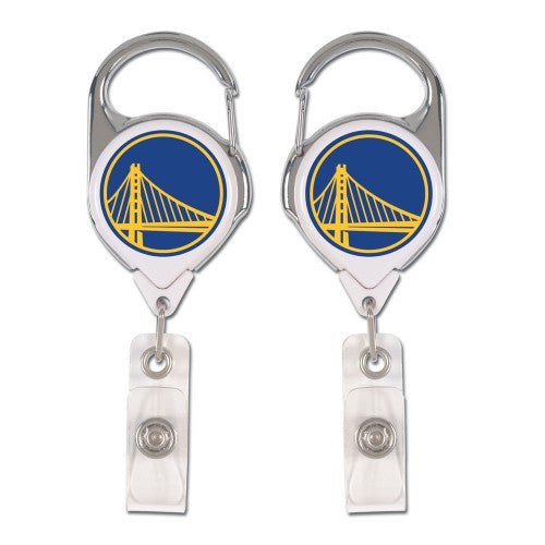 Golden State Warriors Retractable Premium Badge Holder