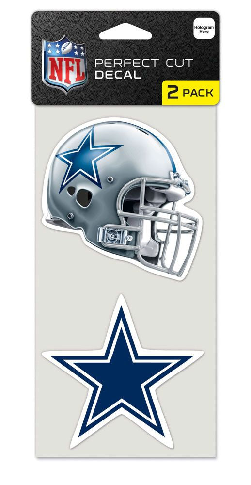 Dallas Cowboys Set of 2 Die Cut Decals