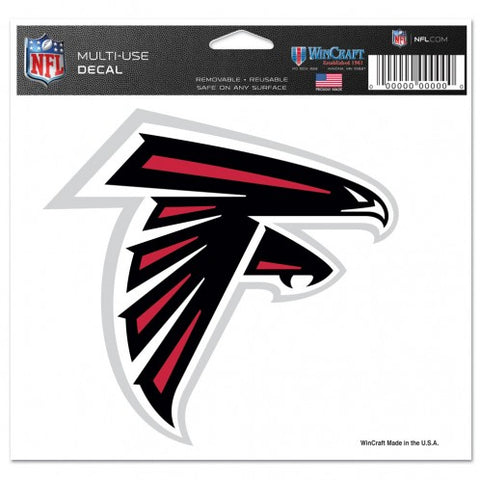 "Atlanta Falcons 5""x6"" Color Ultra Decal - Logo"