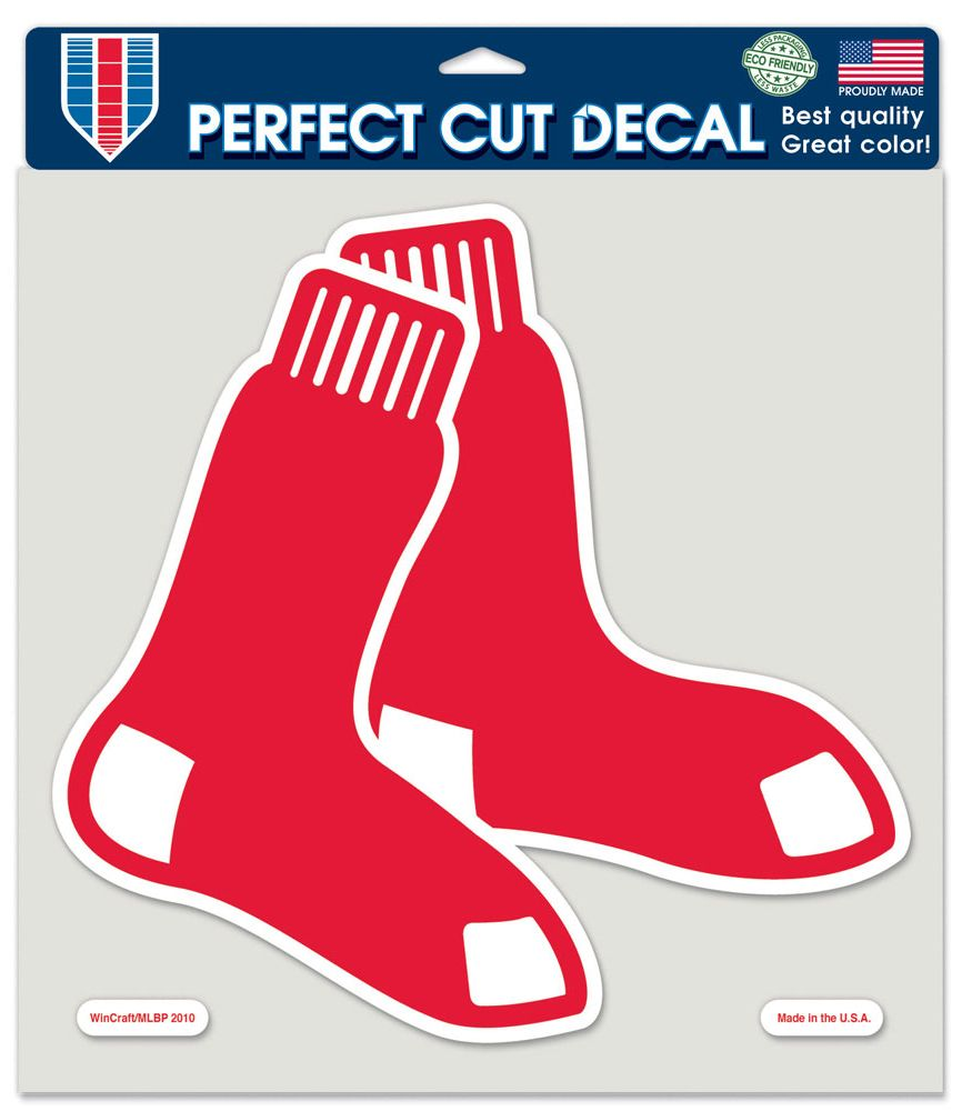"Boston Red Sox Large Die-Cut Decal - 8""x8"" Color"