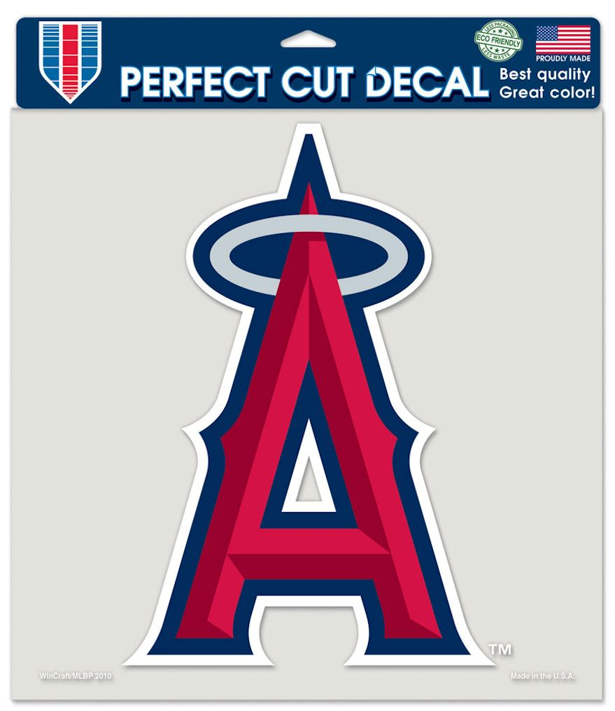 "Los Angeles Angels of Anaheim Large Die-Cut Decal - 8""x8"" Color"