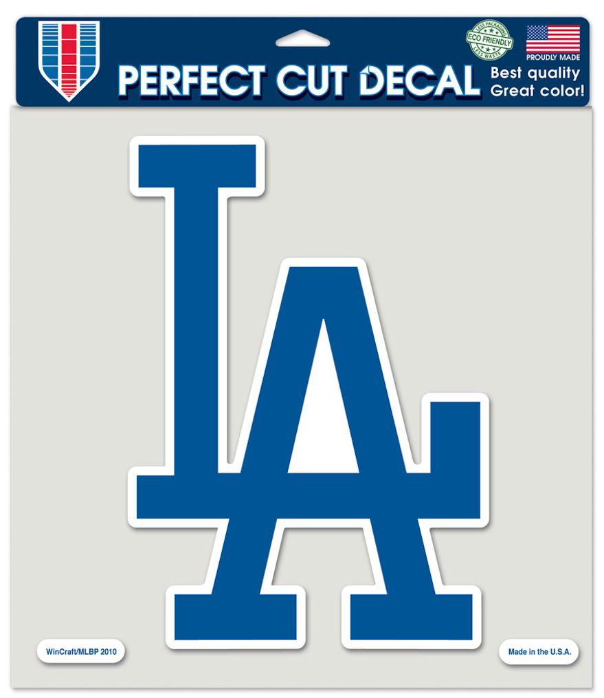 "Los Angeles Dodgers Large Die-Cut Decal - 8""x8"" Color"