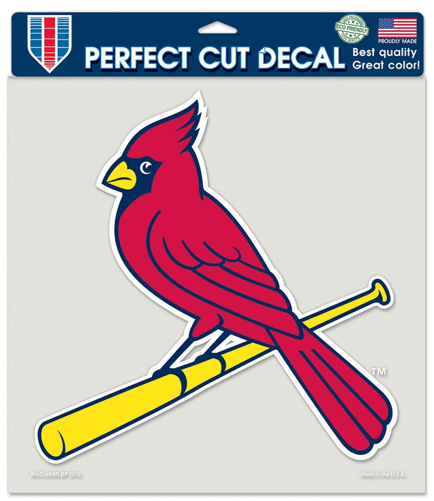 "St. Louis Cardinals Large Die-Cut Decal - 8""x8"" Color"