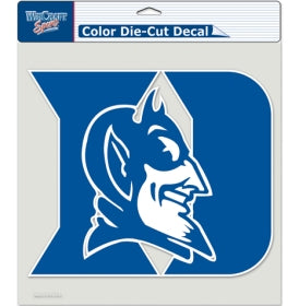 "Duke Blue Devils Large Die-Cut Decal - 8""x8"" Color"
