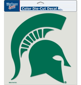 "Michigan State Spartans Large Die-Cut Decal - 8""x8"" Color"