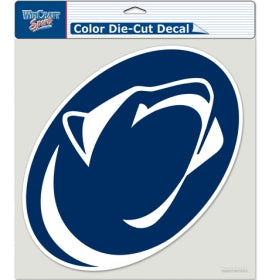 "Penn State Nittany Lions Large Die-Cut Decal - 8""x8"" Color"