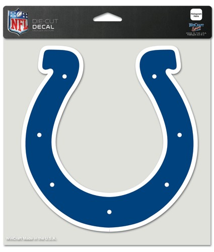 "Indianapolis Colts Large Die-Cut Decal - 8""x8"" Color"