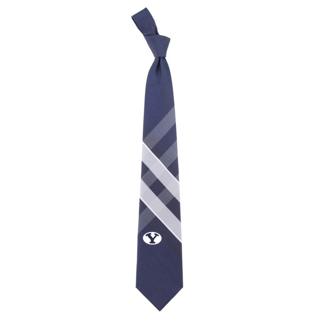 BYU Cougars Grid Style Neck Tie