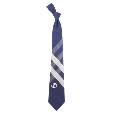 Tampa Bay Lightning Grid Style Neck Tie