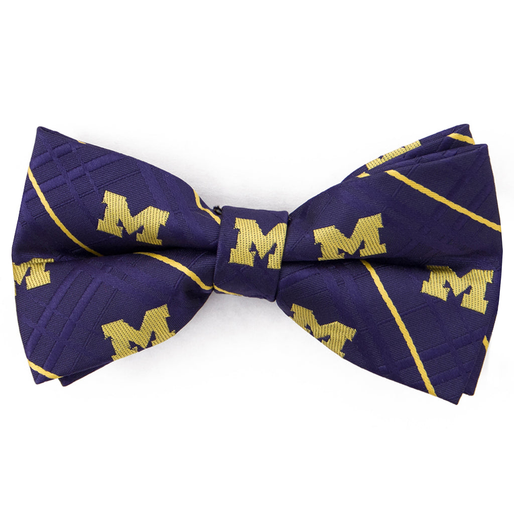 Michigan Wolverines Oxford Style Bow Tie