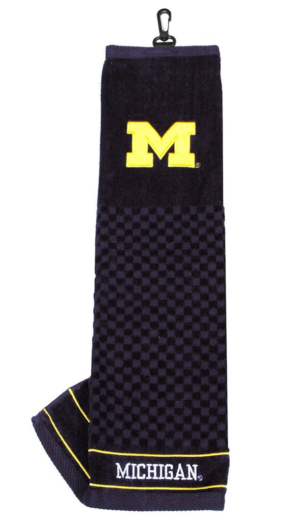 "Michigan Wolverines 16""x22"" Embroidered Golf Towel"