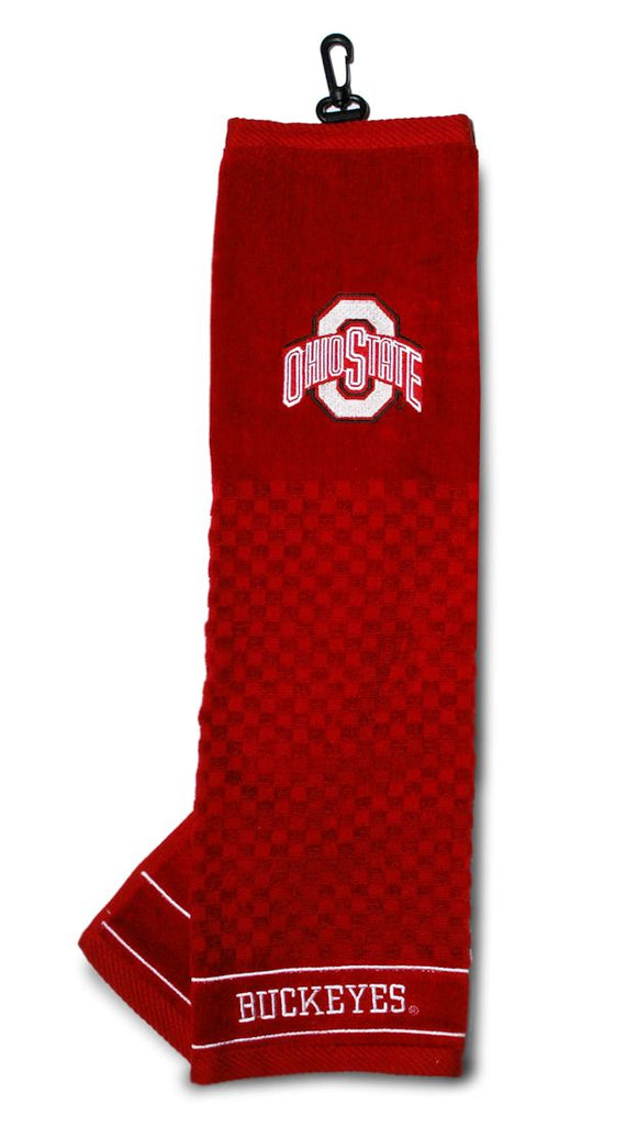 "Ohio State Buckeyes 16""x22"" Embroidered Golf Towel"