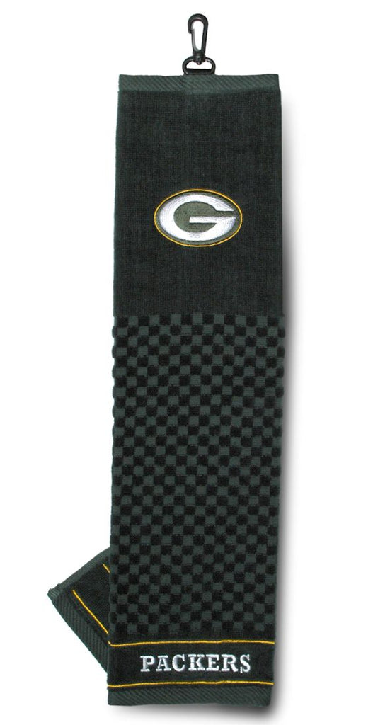 "Green Bay Packers 16""x22"" Embroidered Golf Towel"
