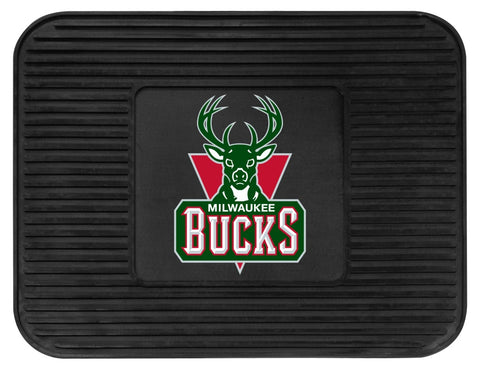 Milwaukee Bucks Car Mat Heavy Duty Vinyl Rear Seat