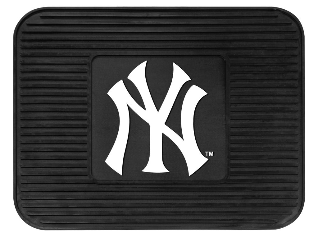 New York Yankees Heavy Duty Vinyl Rear Seat Car Utility Mat