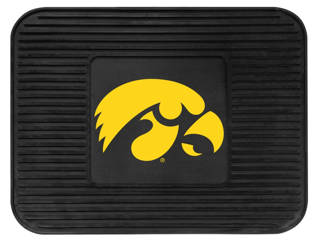 Iowa Hawkeyes Heavy Duty Vinyl Rear Seat Car Utility Mat