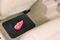 Detroit Red Wings Heavy Duty Vinyl Rear Seat Car Utility Mat