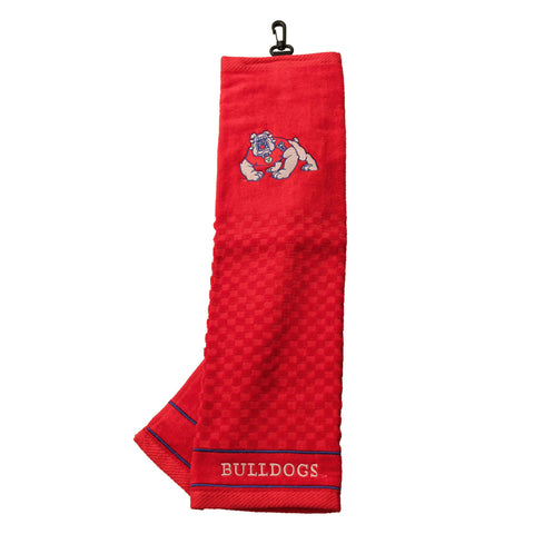 Fresno St Embroidered Golf Towel