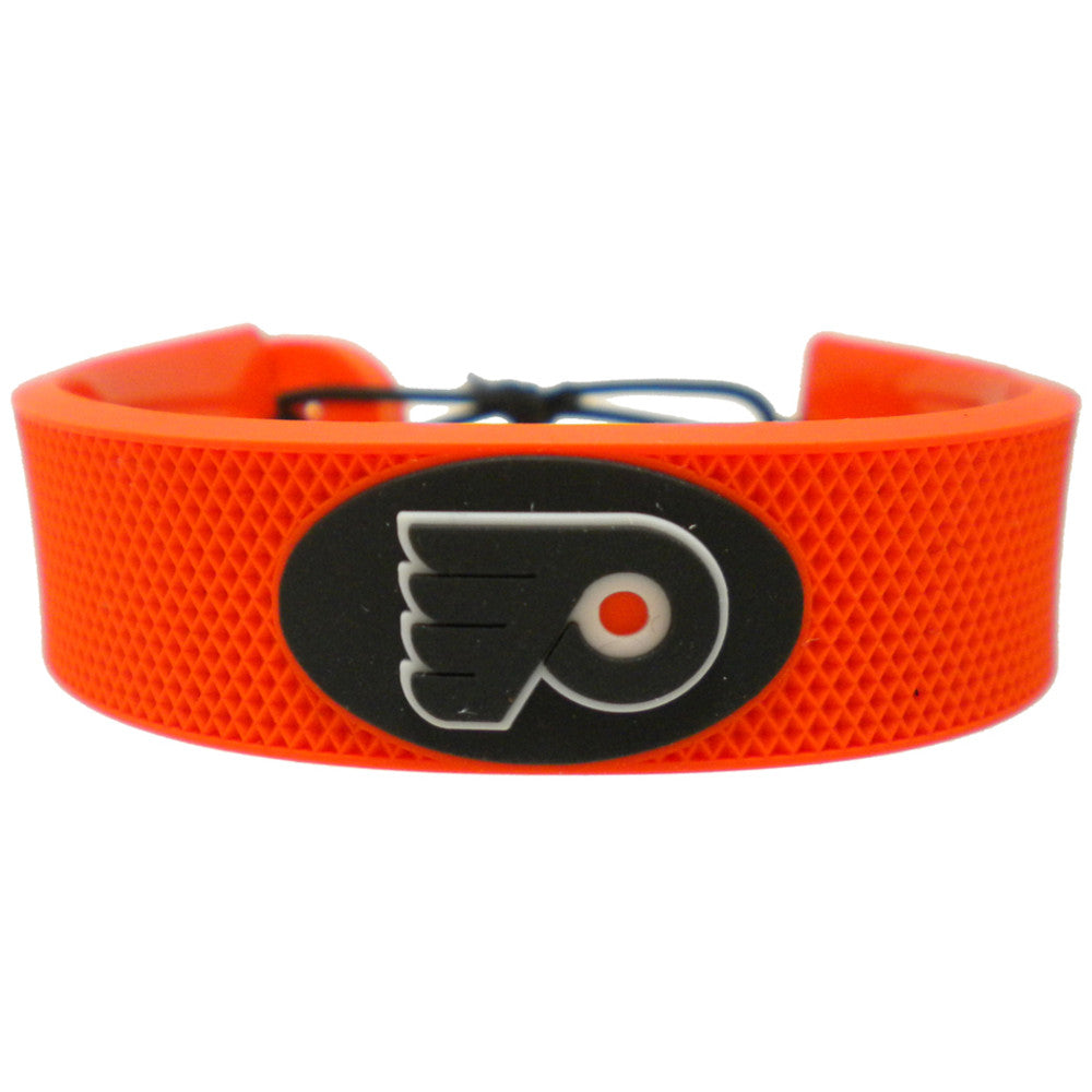 Philadelphia Flyers Team Color Hockey Bracelet