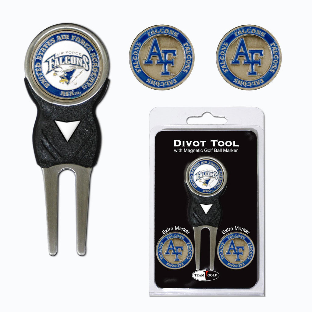 Air Force Academy Divot Tool Pack With 3 Golf Ball Markers