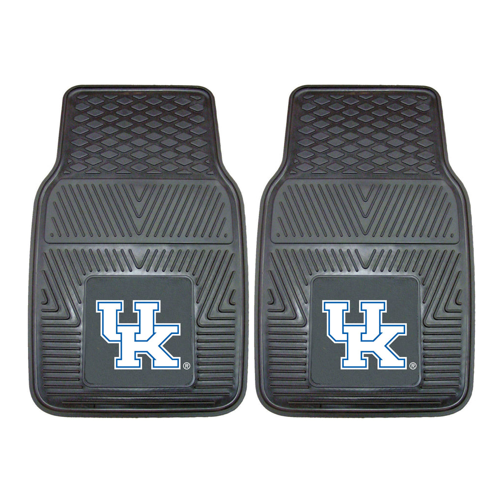 Kentucky Wildcats Heavy Duty 2-Piece Vinyl Car Mats