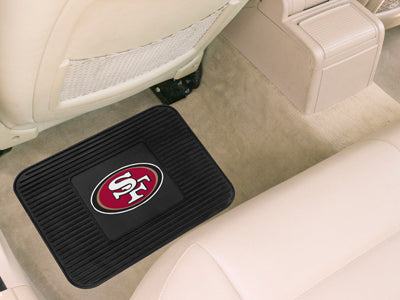 San Francisco 49ers Heavy Duty Vinyl Rear Seat Car Utility Mat