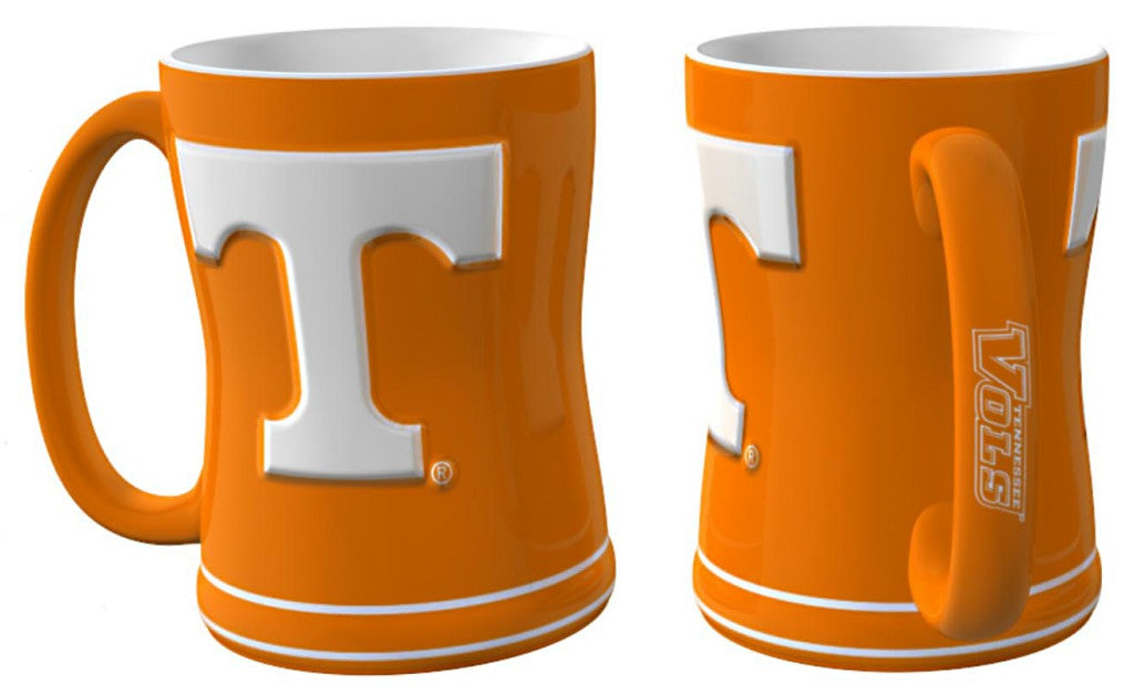 Tennessee Volunteers 3D Coffee Mug - 14oz Sculpted Relief