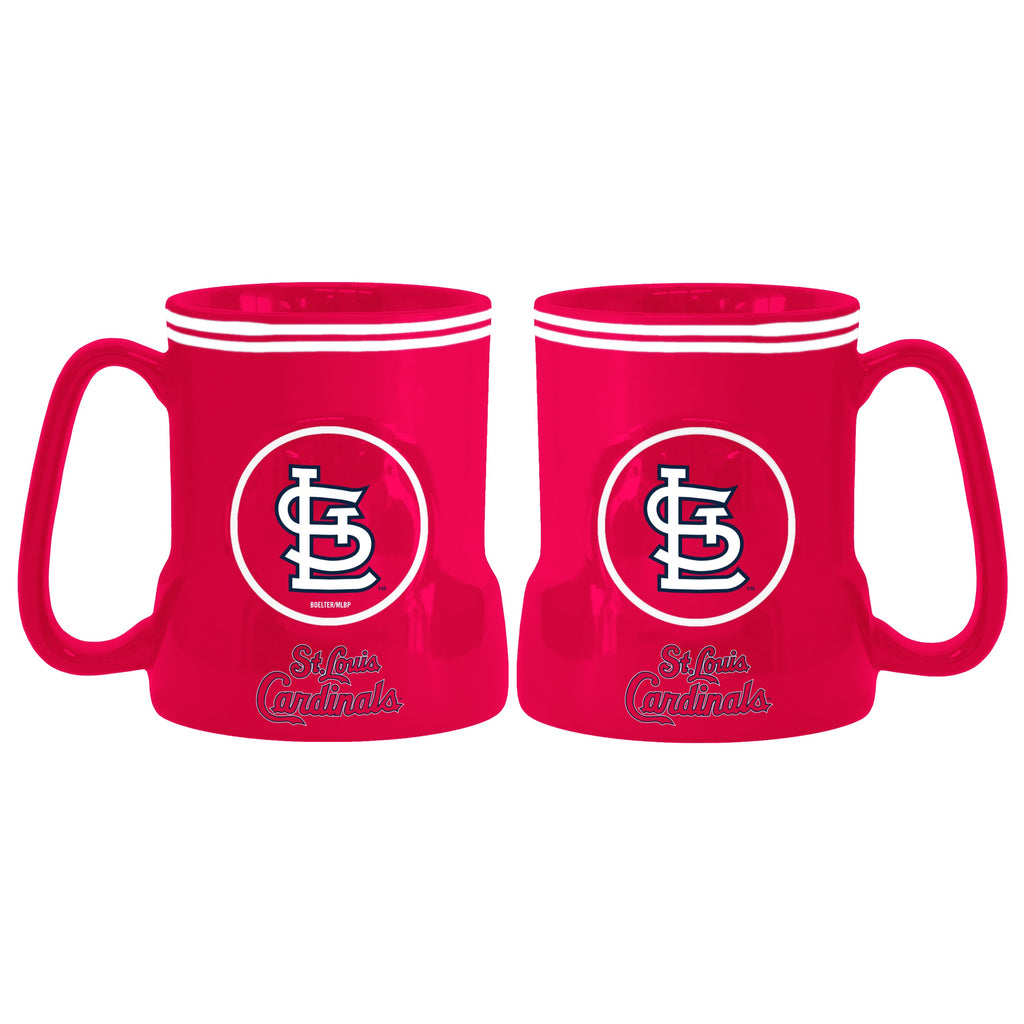 St. Louis Cardinals Coffee Mug - 18oz Game Time
