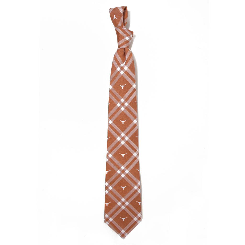 Texas Longhorns Rhodes Style Neck Tie