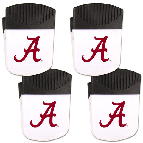 Alabama Crimson Tide   Chip Clip Magnet with Bottle Opener 4 pack