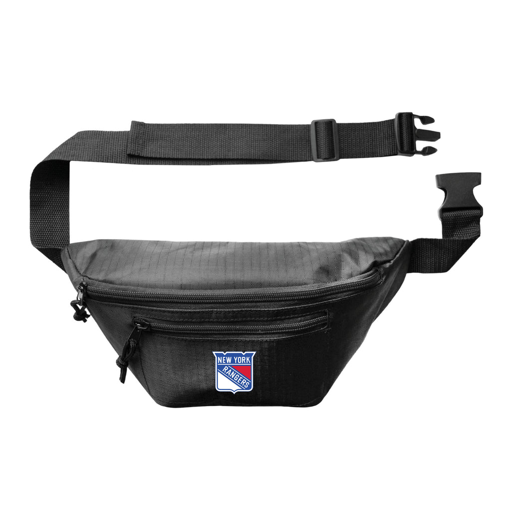 New York Rangers 3Zip Hip Pack - Black