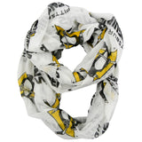 Pittsburgh Penguins Sheer Infinity Scarf