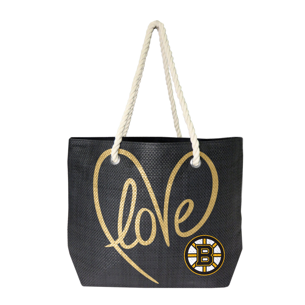 Boston Bruins Rope Tote - Black/Gold