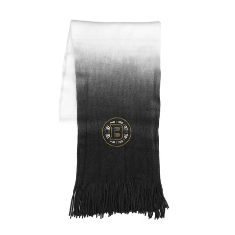 Boston Bruins Dip Dye Scarf - Black
